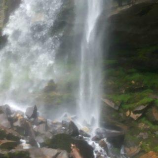 Jogini Falls: Manali, Himachal Pradesh