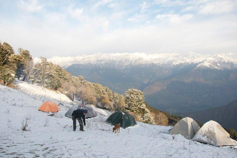 Chandrakhani Pass Trek, Naggar, Kullu
