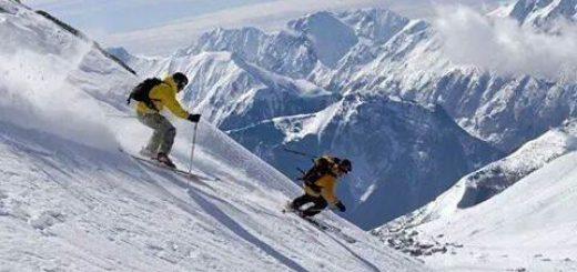 Skiing, Solang Valley Manali Himachal