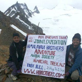 Pin Parvati Pass, Himachal