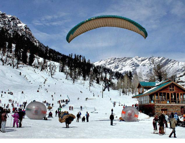 Solang Valley Manali, Himachal