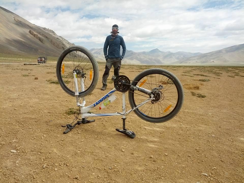Mountain biking (Cycling) ,Manali to Leh