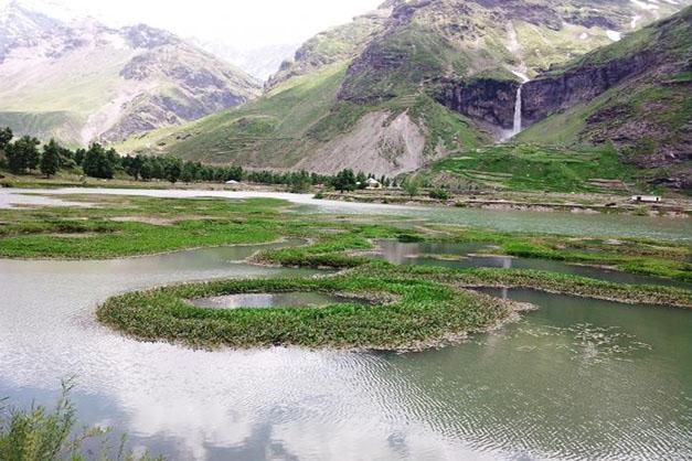 Shishu Waterfall, Lahaul & Spiti, Himachal