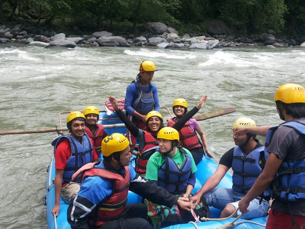 Rafting, Beas River Kullu Manali Himachal