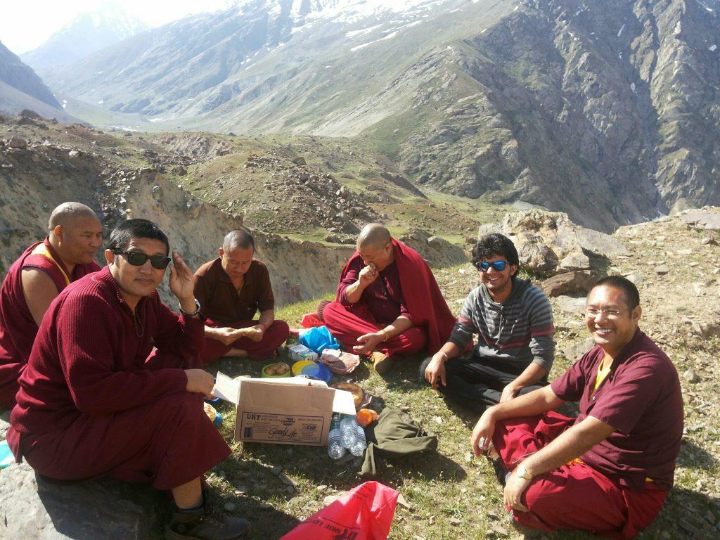 On the way Ladakh