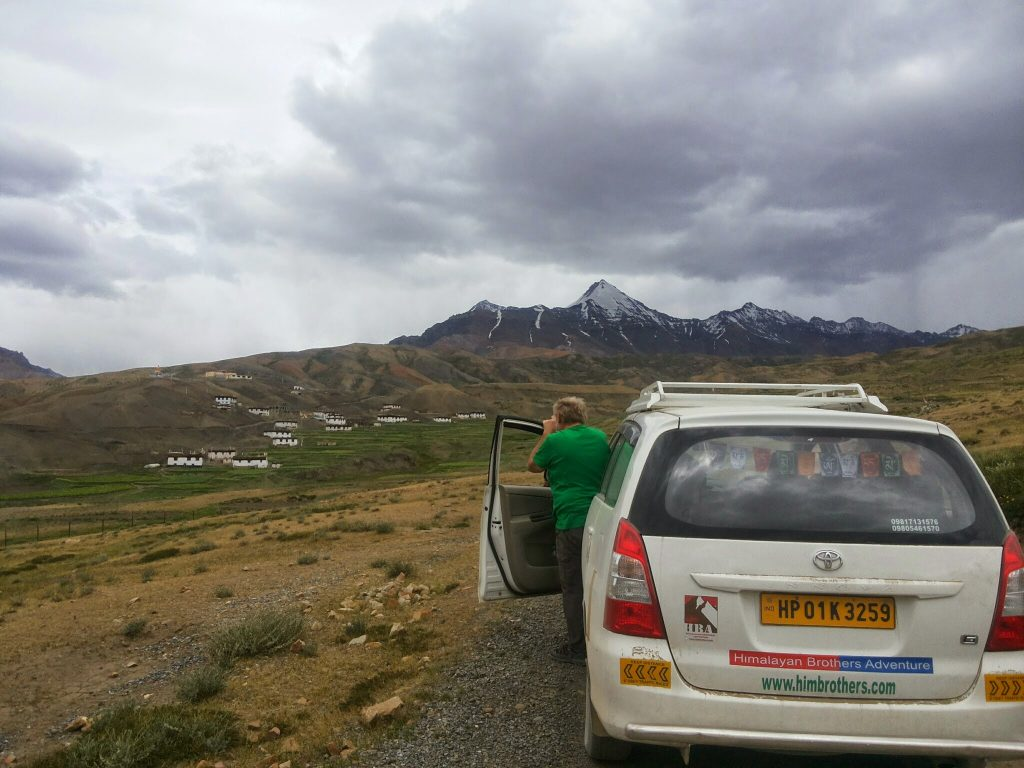 Komic Kibber,Spiti Valley, Himachal