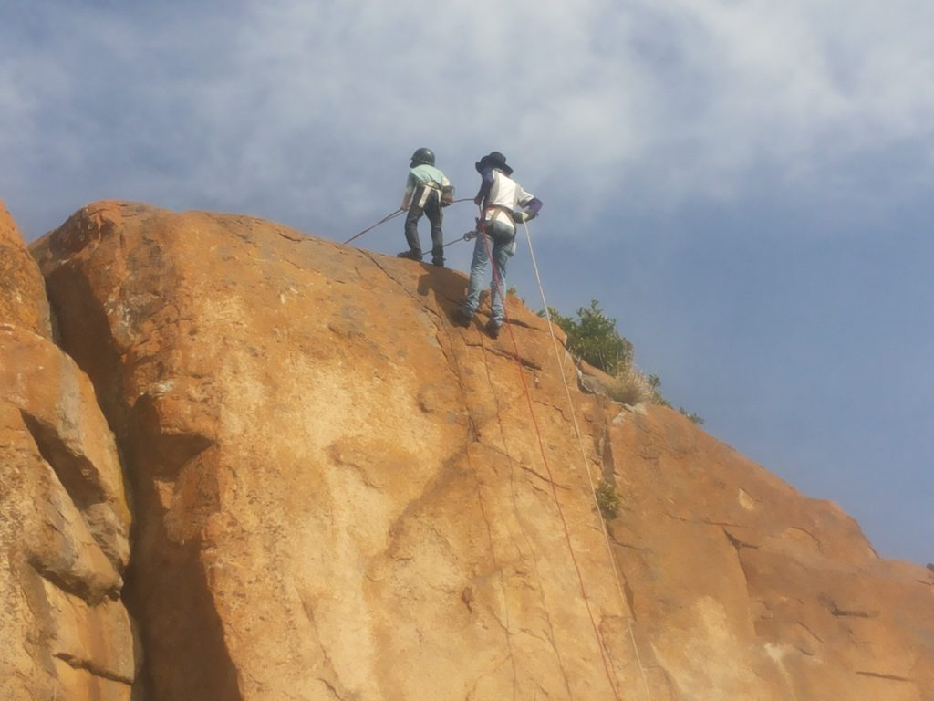 Rappelling At Kullu Manali Himachal
