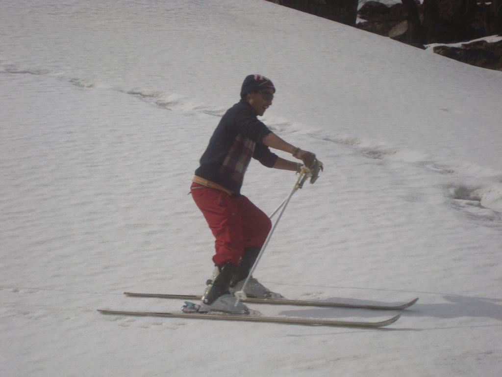 Skiing, Solang, Rohtang Manali Himachal