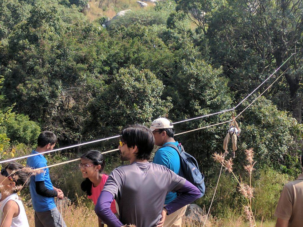 Zipe-line Kullu Manali Himachal