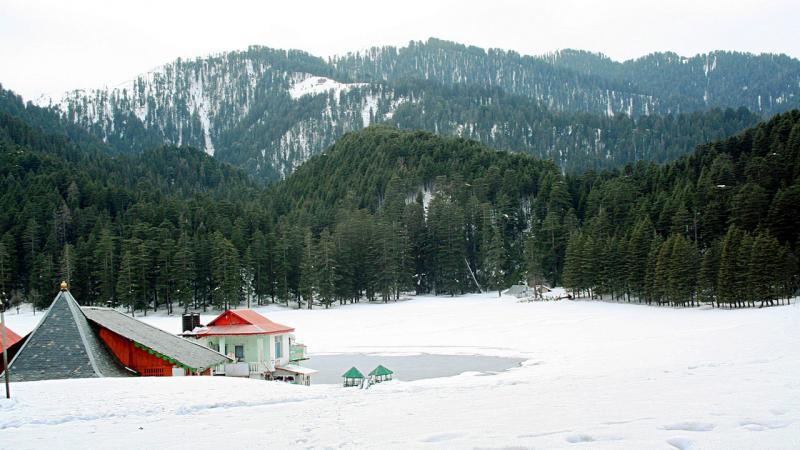 khajjiar snow