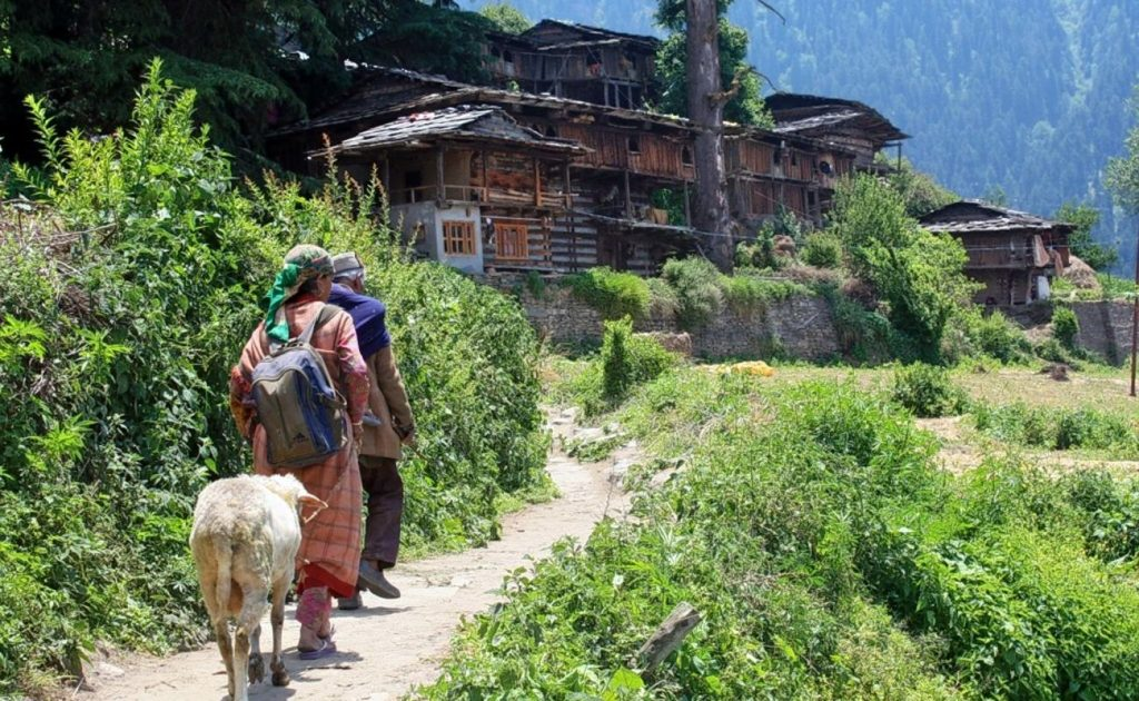 Naggar Rumsu Village and Jana Village