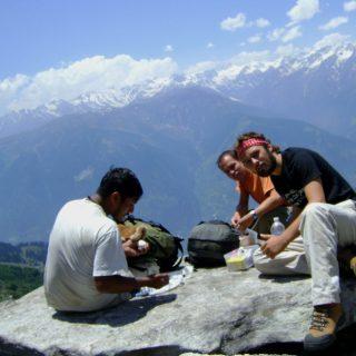 Manali,Deo-tibba,Hamta pass Himachal India