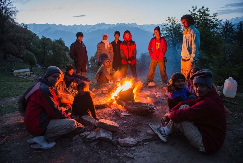Campfire Chanderkhani Family Trek Himachal