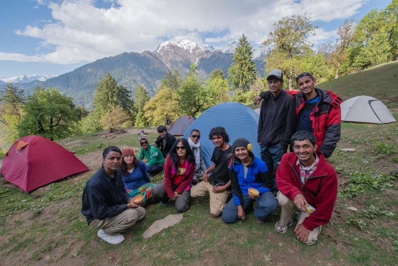 Chanderkhani Family Trek Himachal