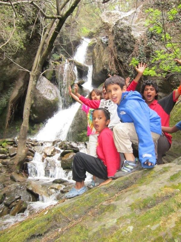 Jana waterfall Naggar Himachal