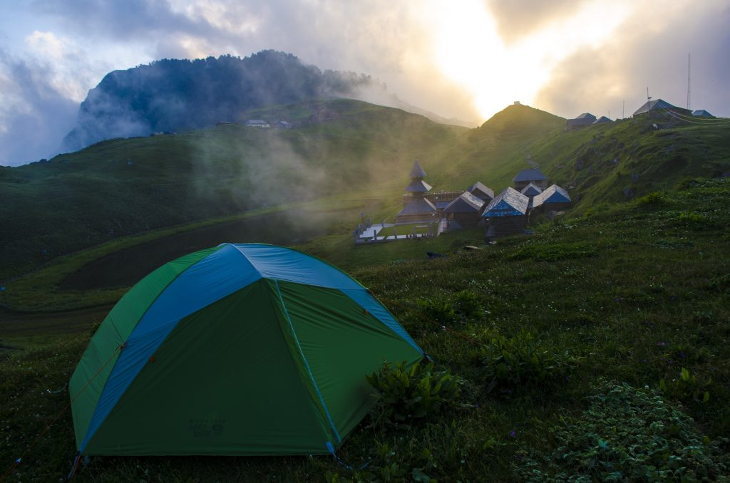 Camp Prashar Lake Himachal